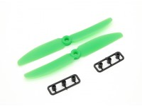 Gemfan Пропеллер 5x3 Зеленый (CW / CCW) (2 шт)