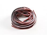 26AWG Servo Провод 5mtr (красный / черный / белый)