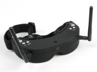 Skyzone FPV Goggles 5.8GHz 40CH Див Raceband RX включая H / Tracker (V2)