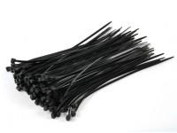 Кабельные стяжки 160мм х 2,5 мм черный (100шт)