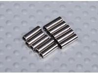 Медь с покрытием обжимной Труба для чалочные / Pull провода (10pc)