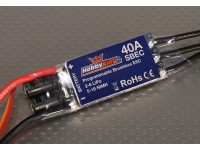HobbyKing 40A BlueSeries Бесщеточный контроллер скорости