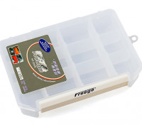 Large 12 Compartment Parts Box with Latching Lid
