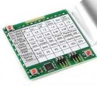 HobbyKing YEP ESC Card Программирование