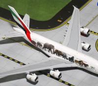 "Gemini Jets Emirates Airlines Airbus A380-*800 ""United for Wildlife #3"" A6-EEQ 1:400 Diecast Model GJUAE1594"