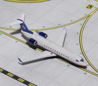 Gemini Jets United Express (Air Wisconsin) Bombardier CRJ-200 N417AW 1:400 Diecast Model GJUAL1633