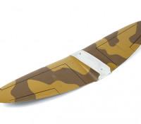Durafly ™ Spitfire Мк5 Desert Схема основного крыла