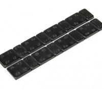 Железный баланс весов 60g (2 полосы на мешок)
