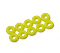 Уплотнительное кольцо Kit 3мм (неоновый желтый) (10шт / мешок)