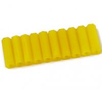 20mm F / F M3 Spacer x10 - желтый