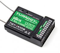 Turnigy iA10B Приемник 10CH 2.4G AFHDS 2A телеметрический приемник W PPM / Sbus