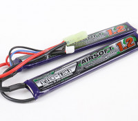 Turnigy нано-технологий 1200mAh 2S 15 ~ 25C Lipo AIRSOFT пакет