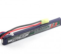Turnigy нано-технологий 1300mAh 2S 25 ~ 50C Lipo AIRSOFT пакет