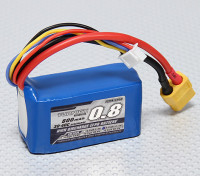 Turnigy 800mAh 3S 30C Lipo обновления