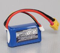 Turnigy 800mAh 2S 40C Lipo обновления