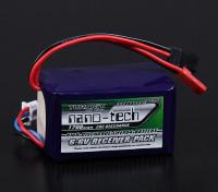 Turnigy нано-технологий 1700mAh 2S2P 20 ~ 40C LiFePo4 приемник Пакет