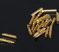 2мм Золотые разъемы 10 пар (20pc)