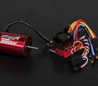 Turnigy Trackstar Водонепроницаемая 1/10 Brushless Power System 3520KV / 80A
