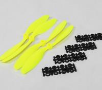 8045 SF Реквизит 2рс CW 2 шт вращение против часовой стрелки (Flouro желтый)
