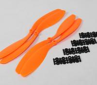 12x4.5 SF Реквизит 2рс Стандартное вращение / 2 шт RH Вращение (оранжевый)