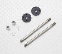 Амортизатор передний вал и Поршень Set - 1/10 Quanum Вандал 4WD Гонки Багги (2sets)