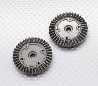 Diff Drive Spur Gear - 1/10 Quanum Вандал 4WD Гонки Багги (2 шт)