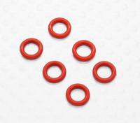 Diff уплотнительное кольцо круглого сечения (6 шт / мешок) - 1/10 Quanum Вандал 4WD Гонки Багги
