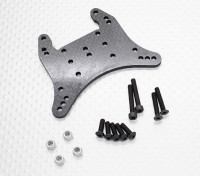 Углеродное волокно задние амортизаторы башня - 1/10 Quanum Вандал 4WD Гонки Багги