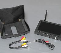 7-дюймовый 800 х 480 5.8GHz Приемник Diversity & TFT LCD FPV монитор со светодиодной подсветкой SkyZone