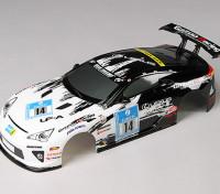 1:10 LFA Готовые кузова Shell