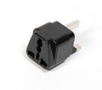 Плавленый 13 Amp сетевого питания Мульти-адаптер (UK Plug)