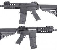 King Arms 516 PDW AEG (черный, короткий Ver.)