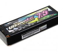 Turnigy нано-технологий Окончательный 7500mah 2S2P 90C Hardcase Липо Pack (ЕДОР & BRCA Approved)