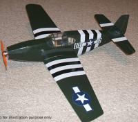 Парк Масштабные модели прихоть серии P-51C Mustang