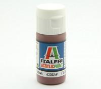 Italeri Акриловая краска - Flat Medium Brown