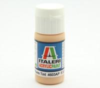 Italeri Акриловая краска - Плоский тон кожи теплый оттенок