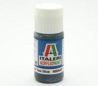 Italeri Акриловая краска - Flat Non Specular Sea Blue