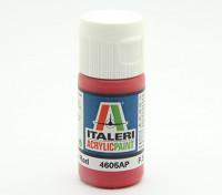 Italeri Акриловая краска - Gloss Красный