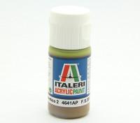 Italeri Акриловая краска - Плоский Marrone Mimetico 2