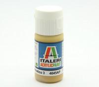 Italeri Акриловая краска - Плоский Giallo Mimetico 3