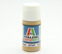 Italeri Акриловая краска - Плоский Вуд