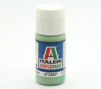 Italeri Акриловая краска - Плоский Бледно зеленый