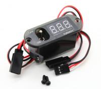 Turnigy 3 Функция CDI Remote Master - Напряжение Дисплей - Переключатель приемника (No БЭК)