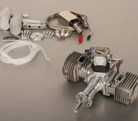 5.5HP 53cc двухцилиндровый Газ Двигатель