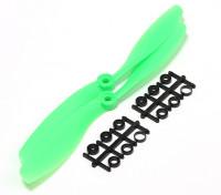 Turnigy Slowfly Пропеллер 8x4.5 Green (КОО) (2 шт)