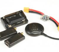 HKPilot Mega 2.7 Мастер Установить с OSD, LEA-6H GPS, модуль питания, телеметрический Radio (915MHz) (XT-60)