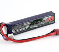 Turnigy нано-технологий 1000mAh 3S 20 ~ 40C Lipo AIRSOFT Pack (T-коннектор)