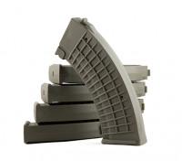 King Arms 110rounds журналы польского типа для Marui AK AEG (оливковый, 5 шт / коробка)