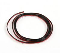 Плоский 26AWG серво провод 1mtr (R / B / W)