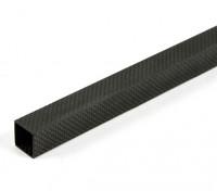 Углеродные волокна трубы квадратного сечения 20 х 20 х 800 мм